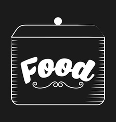 Food label vector