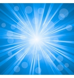 Blue color design with a burst file vector image