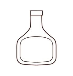 bottle plastic ingredient cooking restaurant thin vector image
