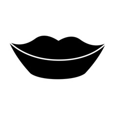 mouth icon image vector image vector image