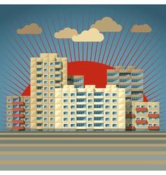 Soviet city vector