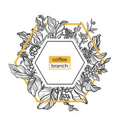 Template coffee 12 vector