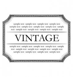 vintage framework marble black vector image