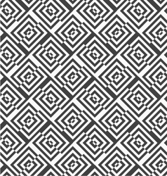 Alternating black and white diagonally cut squares vector