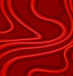 Curve and stripes art vector