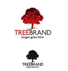 Tree brand logo 2 vector