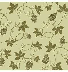 Grapes seamless vector
