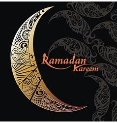 Arabic moon vector