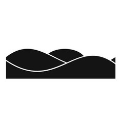 equalizer sound tune icon simple black style vector image vector image