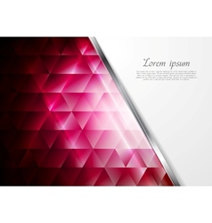 Tech background with metal stripe vector