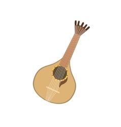 Acoustic guitar portuguese famous symbol vector