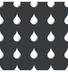 Straight black water drop pattern vector