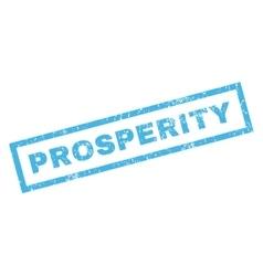 Prosperity rubber stamp vector