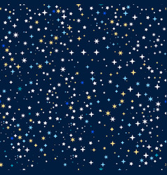 space stars background vector image vector image