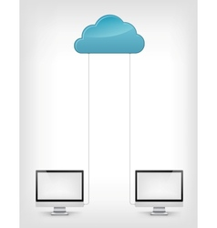 Cloud Service vector image