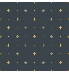 Fleur de lis seamless pattern background vector