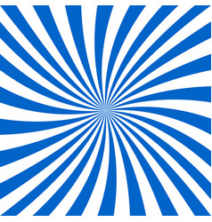 Blue and white spiral design background vector
