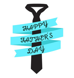 Isolated necktie and ribbon vector