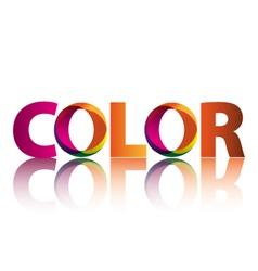logo color vector image vector image