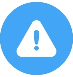 Warning sign vector
