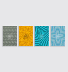 simple minimal covers template design future vector image