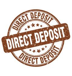 Direct deposit vector