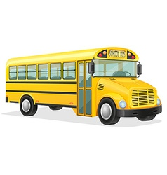 school bus 01 vector image