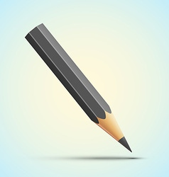 Detailed pencil vector