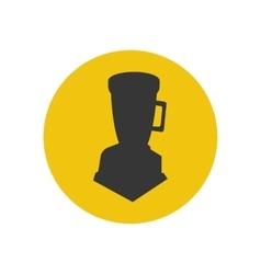 Blender silhouette icon vector