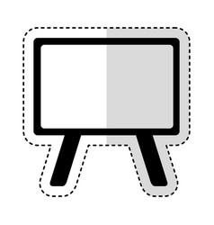 chalkboard school isolated icon vector image vector image