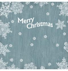 merry christmas vintage greetings vector image vector image