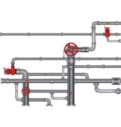 Pipeline vector image vector image