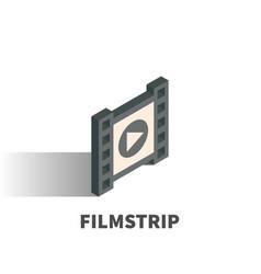 filmstrip icon symbol vector image