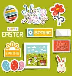 Easter Symbols - Objects Set vector image