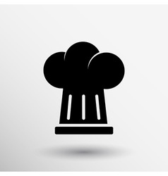 Chef hat icon design in format vector