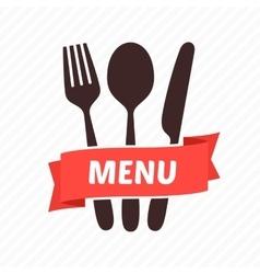 Menu restaurant icons vector