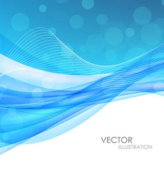 Abstract blue backgroundt vector