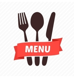 Menu restaurant icons vector image vector image