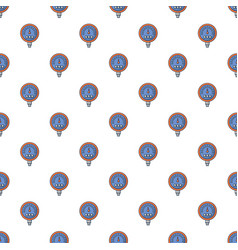 Water meter pattern seamless vector