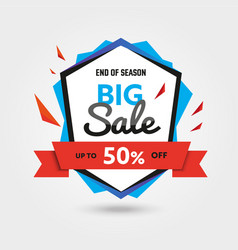 Big sale - modern of discount vector