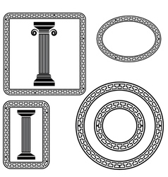 Greek symbol vector