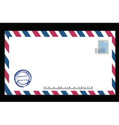 Air mail vector