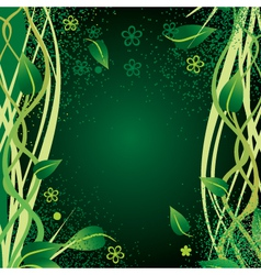Nature border vector