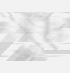 Abstract tech gey silver minimal background vector