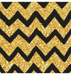 Glitter golden pattern - seamless background vector
