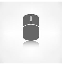 Mouse web icon vector