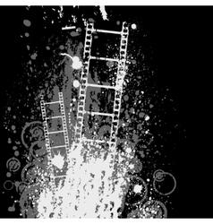 White film background vector image