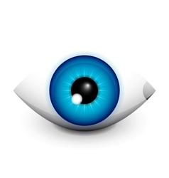 Hi-tech eye concept icon design vector