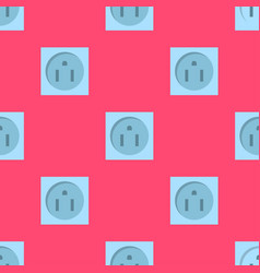 electric outlet energy socket electrical plug vector image