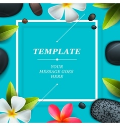 Spa concept background vector